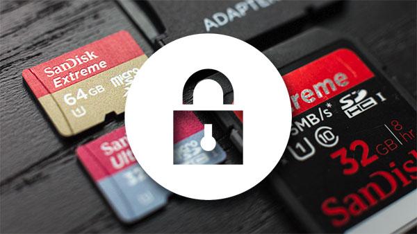 Come sbloccare micro SD protetta da scrittura?